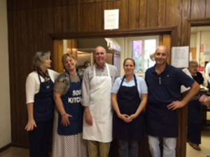 REALTORS volunteer at local Soup Kitchen